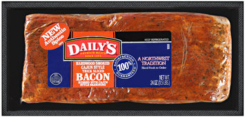 Daily's® Hardwood Smoked Cajun Style Thick Sliced Bacon 24 oz