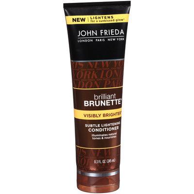 John Frieda® Brilliant Brunette® Visibly Brighter™ Subtle Lightening Conditioner 8.3 fl. oz. Tube