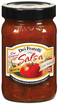 Dei Fratelli Medium Salsa 16 Oz Jar