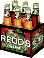 Redd's® Green Apple Ale 6-12 fl. oz. Glass Bottles