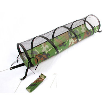 Purrrfect Life Collapsible Camo Cat Play Tunnel