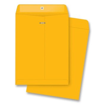Business Source Clasp Envelopes- Brown Kraft