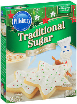 Pillsbury Funfetti® Traditional Sugar Premium Cookie Mix 17.5 oz. Box