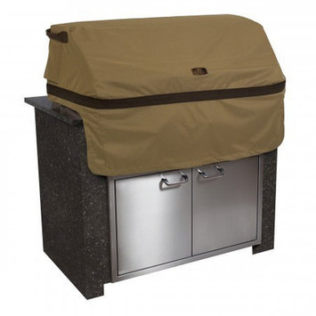 Classic Car Accessories Classic Accessories Patio Island & Grilling Center Additions Hickory Medium Built-In Grill Top Cover Brown 55-332-032401-EC