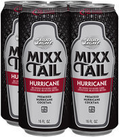 Bud Light Mixx Tail Hurricane Cocktail