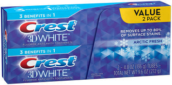 3D White Crest 3D White Arctic  Fresh Icy Cool Mint Flavor Whitening Toothpaste