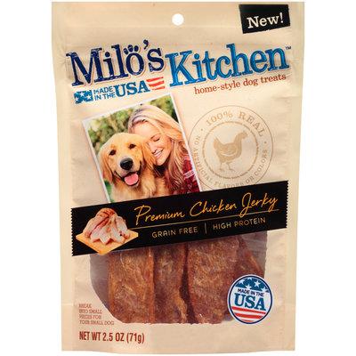 *Sales Sample* Milo's Kitchen Premium Chicken Jerky Strips Dog Treats, 2.5-Ounce