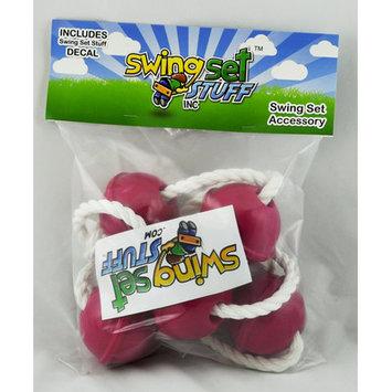 Swing Set Stuff Ball Climbing Rope Color: Pink