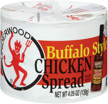 Underwood® Buffalo Style Chicken Spread 4.25 oz. Can