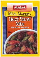 Dry Seasoning Beef Stew Meal Makers Mix 1.5 Oz Peg