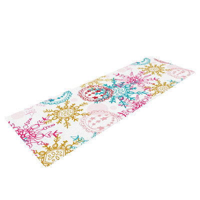 Kess Inhouse Let It Snow by Anneline Sophia Yoga Mat
