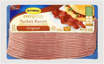 Butterball® Everyday Original Turkey Bacon 12 oz. Pack
