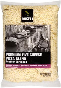 Roseli™ Feather Shredded Premium Five Cheese Pizza Blend 5 lb. Bag
