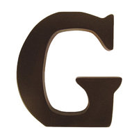 Trend Lab Letter 'G' - Brown - 1 ct.