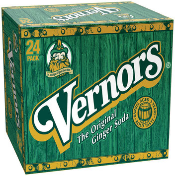 Vernors  Ginger Soda 24-12 Oz Cans