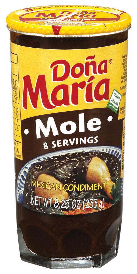 Dona Maria® Mole Mexican Condiment 8.25 oz. Jar