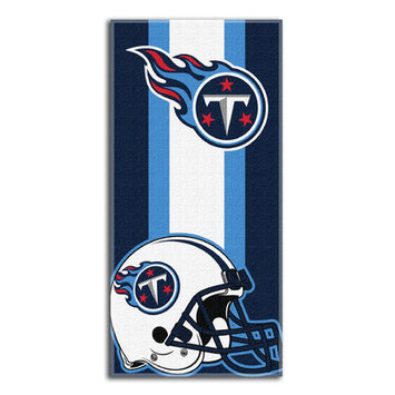 Northwest Co NFL Titans Zone Read Beach Towel