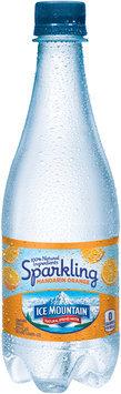 ICE MOUNTAIN Brand Sparkling Natural Spring Water, Mandarin Orange