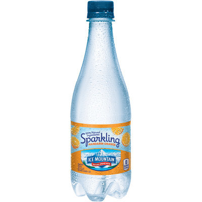 ICE MOUNTAIN Brand Sparkling Natural Spring Water, Mandarin Orange
