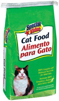 Special Value  Cat Food 4 Lb Bag