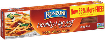 Ronzoni® Healthy Harvest® 100% Whole Grain Linguine 16 oz. Box