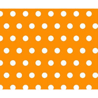 Stwd Polka Dots Crib/Toddler Fitted Sheet Color: Gold
