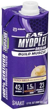EAS® Myoplex® Original French Vanilla Shake 17 fl. oz. Aseptic Pack