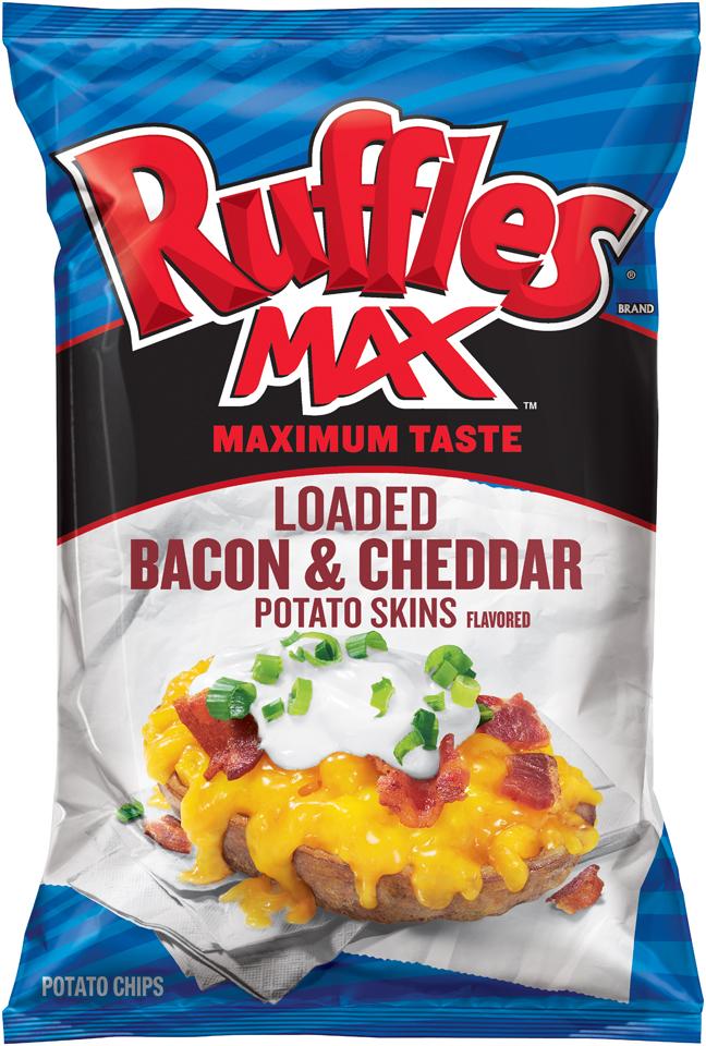 Ruffles Max Loaded Bacon & Cheddar Potato Skins