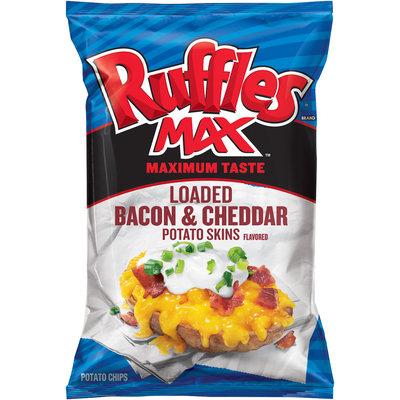 Ruffles® Max Loaded Bacon & Cheddar Potato Skins