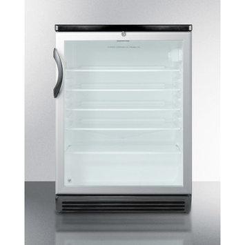 Summit Appliances SCR600BL 5.5 Cubic Ft Under Counter Refrigerator - Black