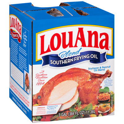 LouAna® Soybean & Peanut Oil Southern Frying Oil Blend 384 fl. oz. Jug