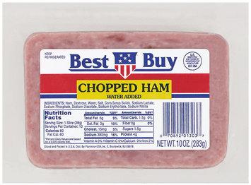 Best Buy  Sliced Ham Chopped 10 Oz