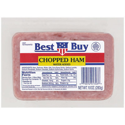 Best Buy  Sliced Ham Chopped 10 Oz