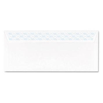Ampad Safeseal Security Envelope, Self-Adhesive, #10, White, 100/Box