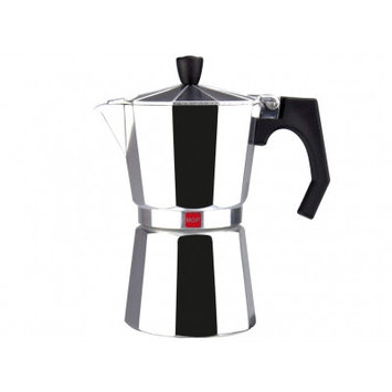 Magefesa Kenia Aluminum 6 Cups Coffee Maker Finish: Aluminum