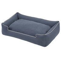 Jax And Bones Crypton Lounge Bolster Dog Bed Size: Extra Large - 48