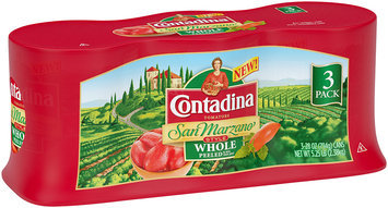 Contadina San Marzano Style Whole Peeled Tomatoes 3-28 oz. Cans