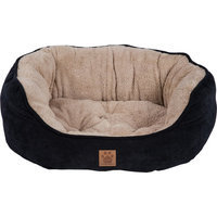 Precision Pet Snoozzy Mod Chic Daydreamer Bed Color: Black