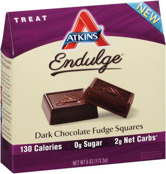 Atkins® Endulge® Treat Dark Chocolate Fudge Squares 6 oz. Box
