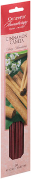 Concerto® Aromatherapy Cinnamon Incense Sticks 20 ct. Carded Pack