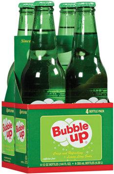 bubble up® lemone lime soda 4 ct