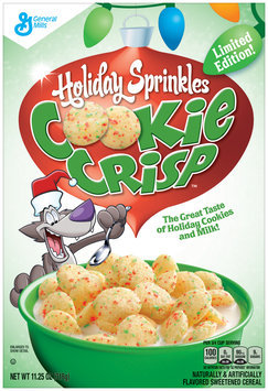 Limited Edition Holiday Sprinkles Cookie Crisp™ Cereal 11.25 oz. Box