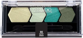 Eye Studio® Color Plush® Silk Eyeshadow Quad Gutsy Green 0.09 oz.