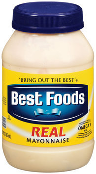 Best Foods Real Mayonnaise 30 Fl Oz Jar