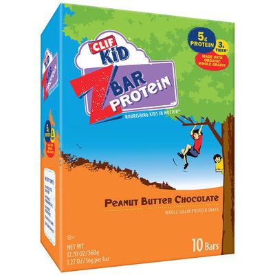 Clif Kid® Peanut Butter Chocolate ZBar Protein 10 ct Caddy