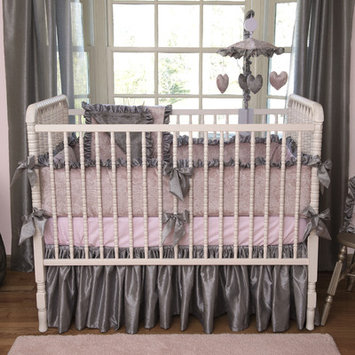 Bebe Chic Charlotte 3 Piece Crib Bedding Set