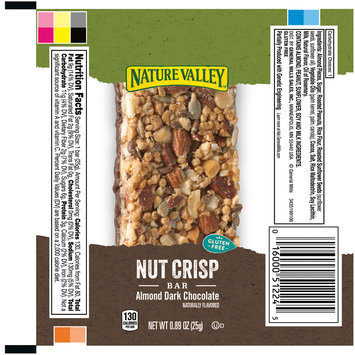 Nature Valley™ Almond Dark Chocolate Crisp Nut Bars 0.89 oz. Pack