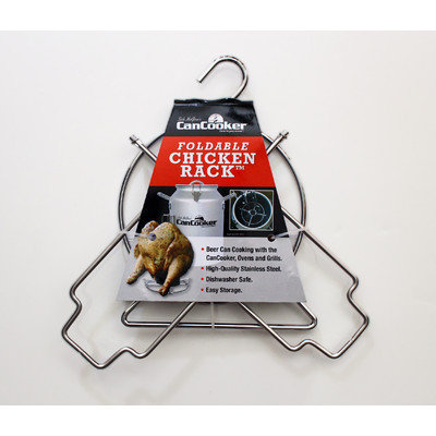 Cancooker Foldable Chicken Grill Rack
