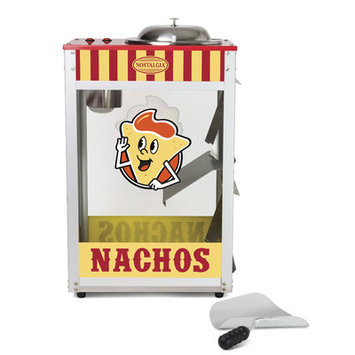 Nostalgia Electrics Professional Nacho Warmer with Melting Pot