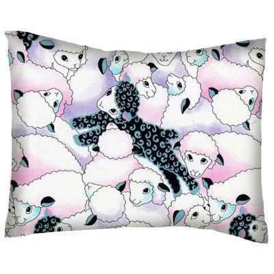 Stwd Sheep Cotton Percale Crib/Toddler Pillow Case